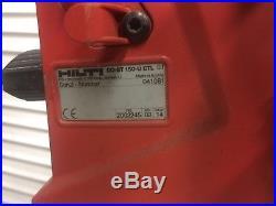 HILTI DD 150U CONCRETE Diamond Core Drill system with STAND & VACUUM PUMP