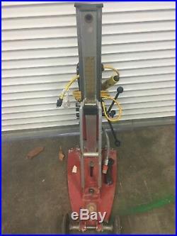 HILTI DD 200 CONCRETE Diamond Core Drill system with STAND & VACUUM PUMP