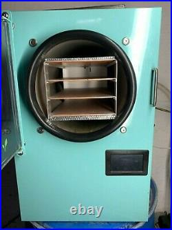 Harvest Right Freeze Dryer W Vacuum Pump Medium 4-Tray Aqua Barely Used