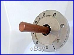 High Current / High Voltage UHV Vacuum Feedthru 4.5 CF