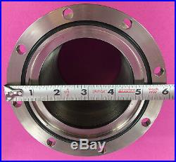 High Vacuum 3.5 ID 6 OD ASA Stainless SS Flexible Bellows MDC Vacuum Chamber
