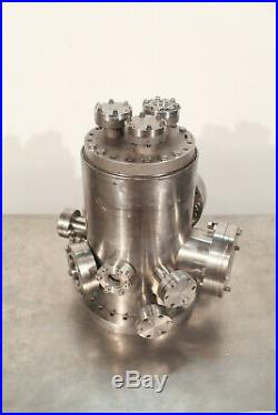 High Vacuum Chamber CF ConFlat (8.25 x 13 inch / 3 Gal) with Viewports + Extras SS