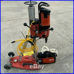 Hilti DD 200 Diamond Core Drill With Stand & VP-U Vacuum Pump Coring