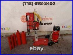 Hilti DD-250 Core Drill Rig Vacuum Pump Water Tank Great Shape #2