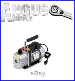 Home Or Commercial Use AC A/C HVAC Professional 1.5 CFM TWO STAGE VACUUM PUMP