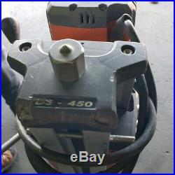 Husqvarna Core Drill DS-450 Stand and Vacuum Pump