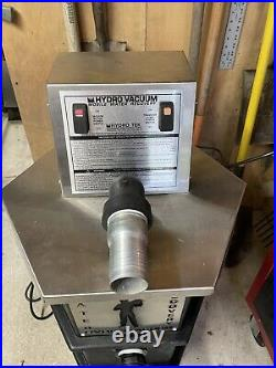 Hydrotek RPV30E1 Water recovery vacuum system with auto pump out