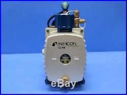 Inficon 700-100-P1 Model QS5 A/C Vacuum Pump 5 CFM Air Displacement 110V/220V