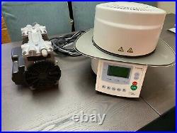 Ivoclar Programat CS Dental Glazing Firing Oven Furnace & Thomas Vacuum Air Pump