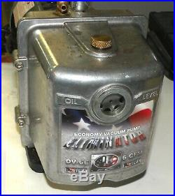 JB Eliminator DV-6E 6 CFM Vacuum Pump HVAC