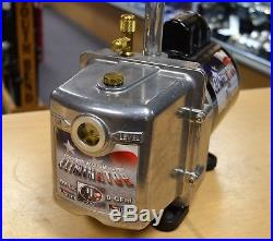 JB Eliminator DV-6E 6 CFM Vacuum Pump with Imperial Manifold Free Shipping