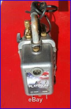 JB Industries DV-200N 7 CFM 2 Stage Platinum Deep Vacuum Pump Made in USA