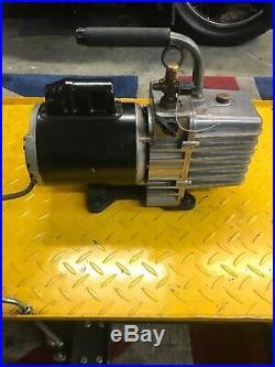 JB Industries DV-200N 7 CFM 2 Stage Platinum Vacuum Pump Perfect Working Order