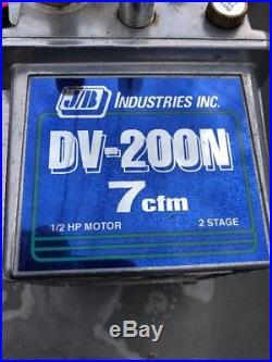 JB Industries DV-200N Platinum 7 CFM Vacuum Pump 9/L154826A