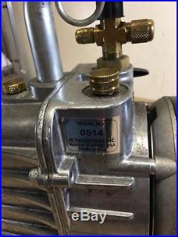 JB Industries DV-85N Platinum Vacuum Pump C55JXKPK-5060 DV85N