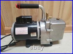 JB Industries Eliminator DV-6E Refrigeration A/C 6 CFM Vacuum Pump USA Made