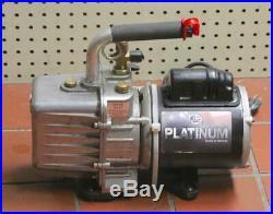 JB Industries Platinum DV-200N 7CFM HVAC Evacuation Dual Stage Vacuum Pump