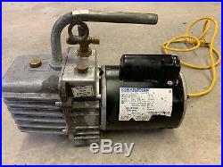 JB J/B Industries DV-200N Platinum 7 Cfm 1/2 HP 2 Stage Refrigerant Vacuum Pump