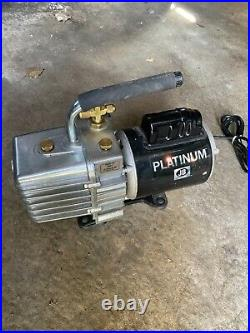 JB Platinum DV-142N vacuum pump 5 CFM 1/2 HP