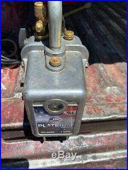JB Platinum vacuum pump 7 CFM, DV200N