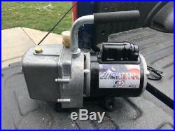 JB eliminator vacuum pump 6 CFM DV-6E Harvest Right Freeze Dryer Pump HVAC