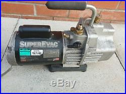 Javac vacuum pump superEvac 93587