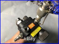 King 3750 PV411 28.5inHg Vacuum 10000 psi Pressure Test Hand Pump For Calibrator