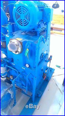 Kinney/Tuthill Booster/Rotary Piston Vacuum Pumping System