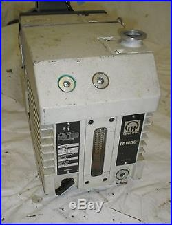 Leybold trivac dual stage vacuum pump d16b w ge 1hp 3 for 1hp 3 phase motor