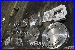 Large Lot Of MDC Vacuum Flanges Parts Varian 9,10,8 Over 20 Pcs