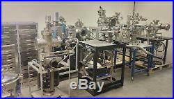 Large Lot of Stainless Steel High Vacuum Chambers Research Cryo Pumps Nice
