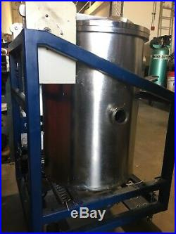 Large Stainless Steel Vacuum Chamber Deposition For Parts or Repair