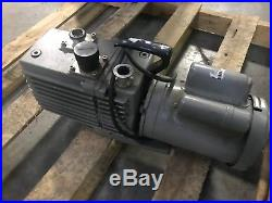 Leybold-Heraeus Trivac D16A Rotary Vane Vacuum Pump 2 Stage