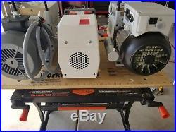 Leybold TRIVAC D16B Vacuum Pump Single Phase 110v