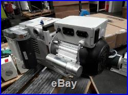 Leybold TRIVAC D16B Vacuum Pump Single Phase 110v and Three Phase 208/460volts