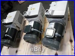 Leybold TRIVAC D16B Vacuum Pump Three Phase 208/460volts