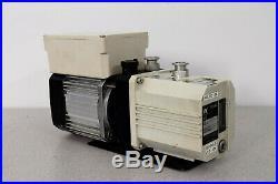 Leybold Trivac D2.5E Vacuum Pump Hanning Motor E7B4B3-7 1600 RPM Warranty