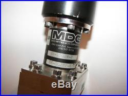MDC GV-1500V-P High Vacuum Chamber 2.75 CFF Flange Gate Valve Varian Edwards