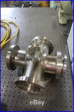 MDC High Vacuum 6 Way Varian