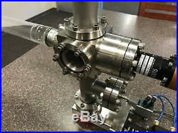 MDC High Vacuum Chamber UHV 2.75 6-Way Cross Linear Actuator Paschen Discharge
