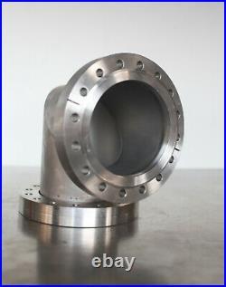 MDC Huntington Conflat High Vacuum Flange 6 CF Elbow // 90 Mitered
