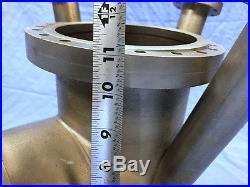MDC Kurt Lesker 8 Conflat CFF SS Vacuum Research Chamber Tee + (3) 2.75 Ports
