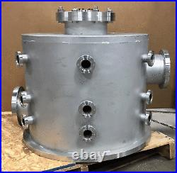 MDC Stainless UHV Research Vacuum Chamber 24 Diameter 20 tall Conflat 8 CFF