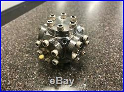 MDC Vacuum Chamber 6-Way Cross 1.33 CF Cube 4 Conflat Flanges 2 Viewports Optics