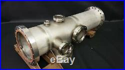 MDC Varian 8 Conflat Multi-Port High Vacuum Chamber Stainless Steel UHV CFF CF