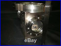 MDC Varian 8 Conflat Multi-Port High Vacuum Chamber Stainless Steel UHV CF 1