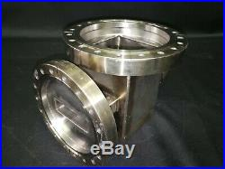MDC Varian 8 Conflat Multi-Port High Vacuum Chamber Stainless Steel UHV CF 2