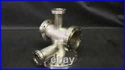 MDC Varian Conflat Multi-Port High Vacuum Chamber Stainless Steel UHV CFF CF