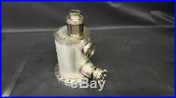 MDC Varian Conflat Multi-Port High Vacuum Chamber Stainless Steel UHV CFF CF 3