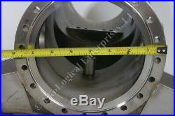 MDC Varian SS High Vacuum 8-Port Conflat Flange T Vacuum Chamber with Frame 8